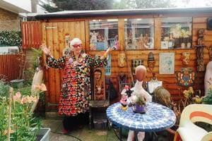 |如果只有喝一杯咖啡的時間,你會帶我去哪兒?| 歡迎來我家!倫敦最酷的午茶地點-藝術界的時尚KOL Sue Kreitzman