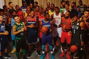 NBA球衣歷史,代表了一部運動科技的昇華與進化史。