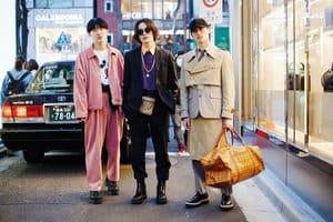 東京時裝週結束後,馬上在街頭考察2018年的最真實Style!
