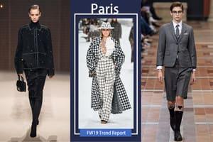 """""""四大時裝週唯一也是永遠的高潮依舊還是巴黎時裝週"""""""