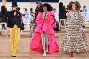 |Wazaiii看秀零時差|Marc Jacobs 2020春夏大秀 彷彿帶我們來到變裝派對