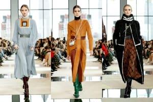 |Wazaiii看秀零時差|Longchamp 2020秋冬大秀:復古又有點前衛,一位70年代精神的當代女子