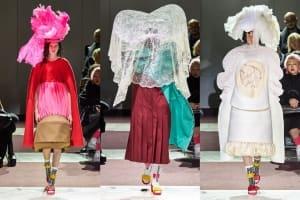 |Wazaiii看秀零時差|COMME des GARÇONS 2020秋冬大秀:超越時尚與藝術