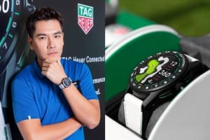 |Wazaiii 時尚郊遊去|繫上 TAG Heuer 泰格豪雅 Connected 高爾夫球特別版智能腕錶,揮出一竿進洞的智能生活感受