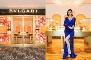 |Wazaiii 時尚郊遊去| BVLGARI 寶格麗形象店開幕,戲劇女王賈靜雯力挺,配戴藍寶石誇:寶格麗最懂女人