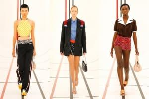 |Wazaiii 看秀零時差|超模二代 Lila Moss 承襲母親 Kate Moss 風範,Miu Miu 春夏時裝伸展台引領風騷