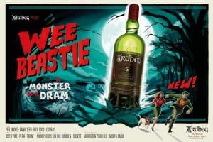 |Wazaiii 時尚郊遊去|雅柏 Ardbeg 全新威士忌 Wee Beastie – 小野獸兇猛出閘!威猛嗆辣重擊你的味蕾
