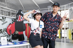 adidas Originals 「Artist Pack」聯名系列繼迪士尼再燃藝術永續魂 Leo 王、峮峮示範夏季街頭潮|Wazaiii 時尚郊遊去|